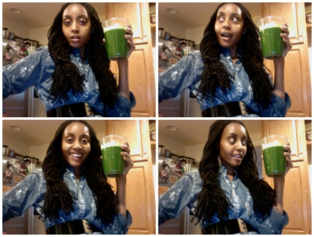 Juice! Green Morning Pick-Me-Up!